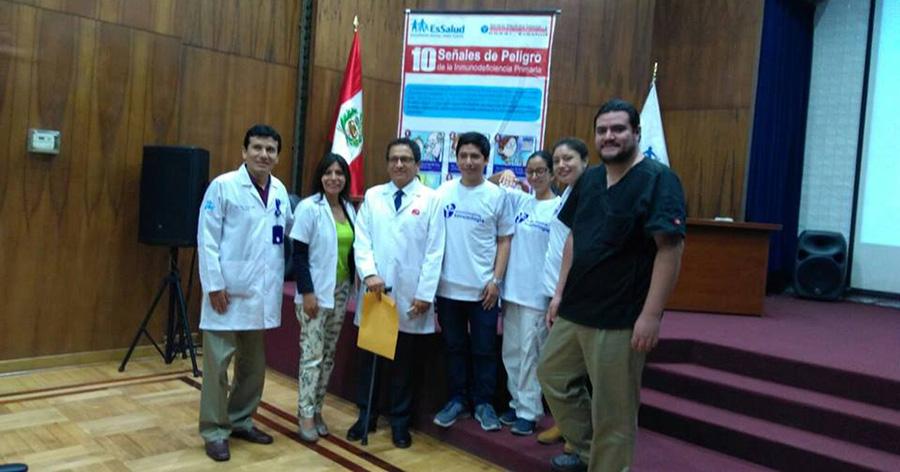 Celebración de la Semana de las Inmunodeficiencias Primarias