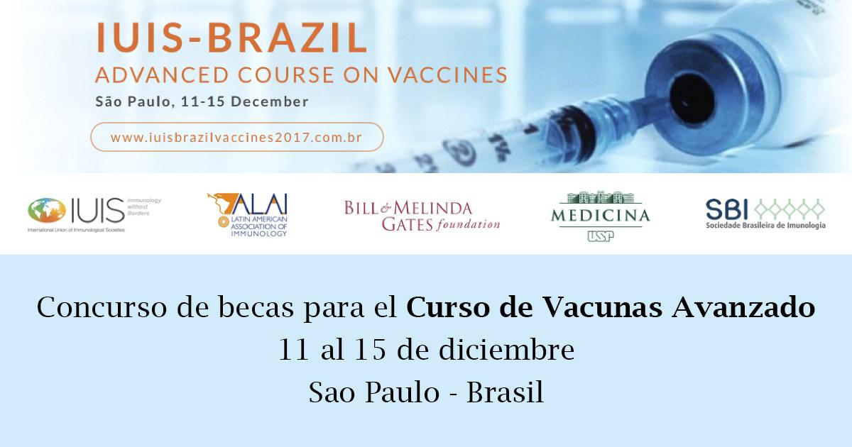 Curso de Vacunas Avanzado / Sao Paulo - Brasil