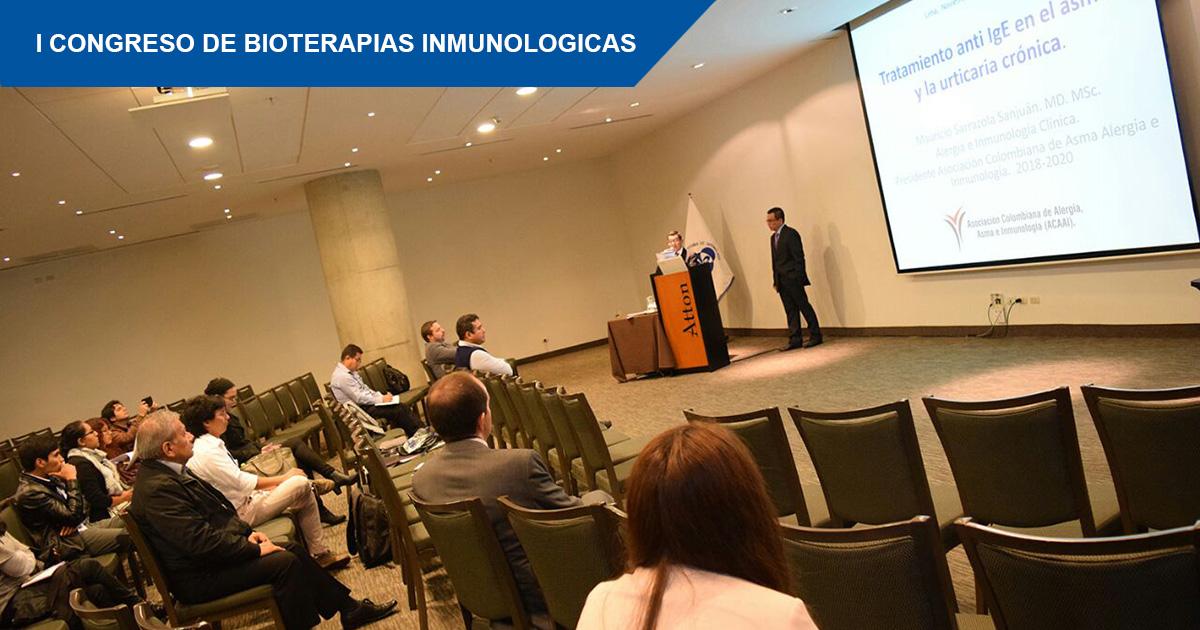 I Congreso de Bioterapias Inmunologicas