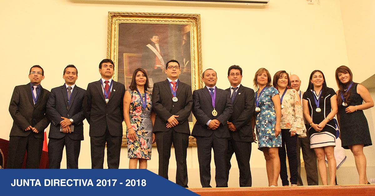 JUNTA DIRECTIVA 2017 - 2018