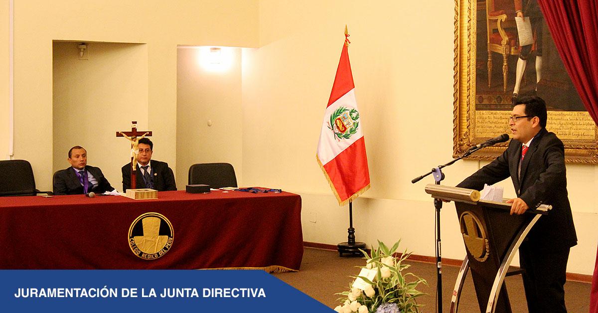 JURAMENTACIÓN DE LA JUNTA DIRECTIVA