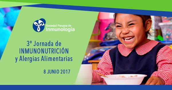 III JORNADA DE INMUNONUTRICIÓN Y ALERGIAS ALIMENTARIAS